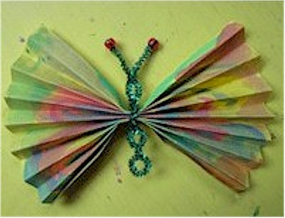 Concertina Fold Butterfly