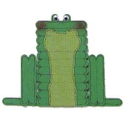 Craft Stick Frog