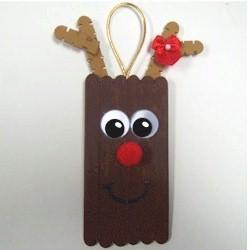 Image of Craft Stick Reindeer
