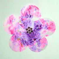 Image of Crepe Streamer Flowers