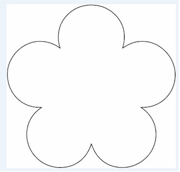 Free flower templates to cut out gallery template design ideas paper flower cut out templates maxwellsz mightylinksfo
