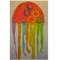 Image of Crepe Paper Jelly Fish