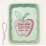 Cross Stitch Apple
