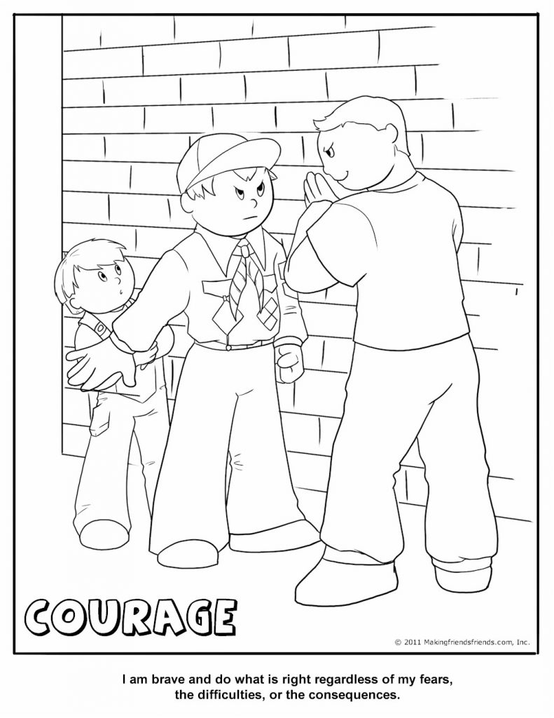 Cub Scout Coloring Pages