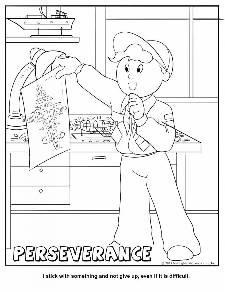 Cub Scout Law Coloring Pages