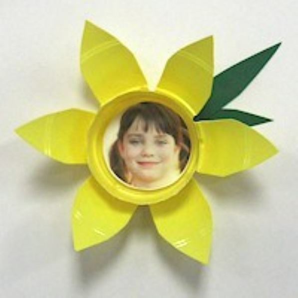 Daffodil Photo Magnet
