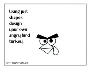Image of DIY Angry Bird Turkey