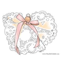 Image of Doily Angel