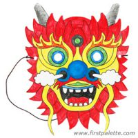 Image of Chinese Dragon Mask