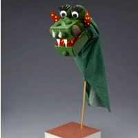 Image of Moveable Dragon Puppet