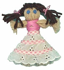 Image of Yarn Doll