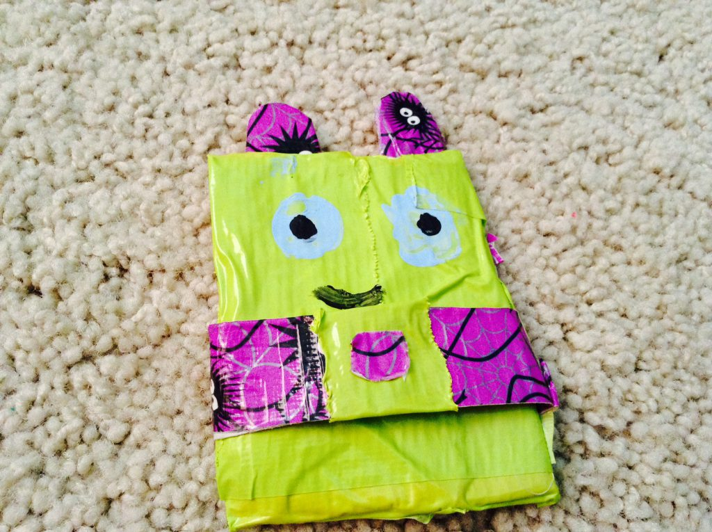 Duct Tape Monster