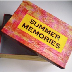 Duct Tape Treasure Box
