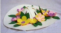 Image of Mini Easter Bonnet Pin