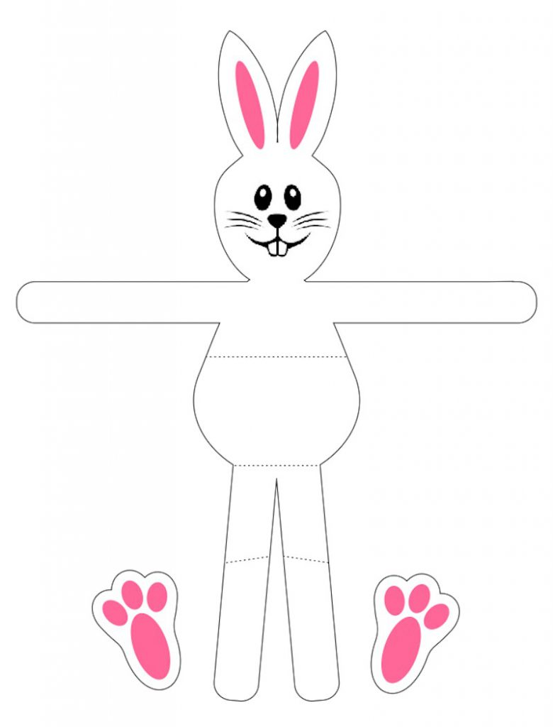 Bunny Patterns Printables Awesome Inspiration Ideas