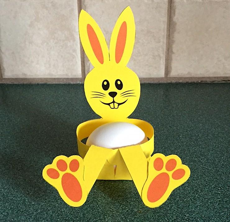 Image of Easter Bunny Egg Holder