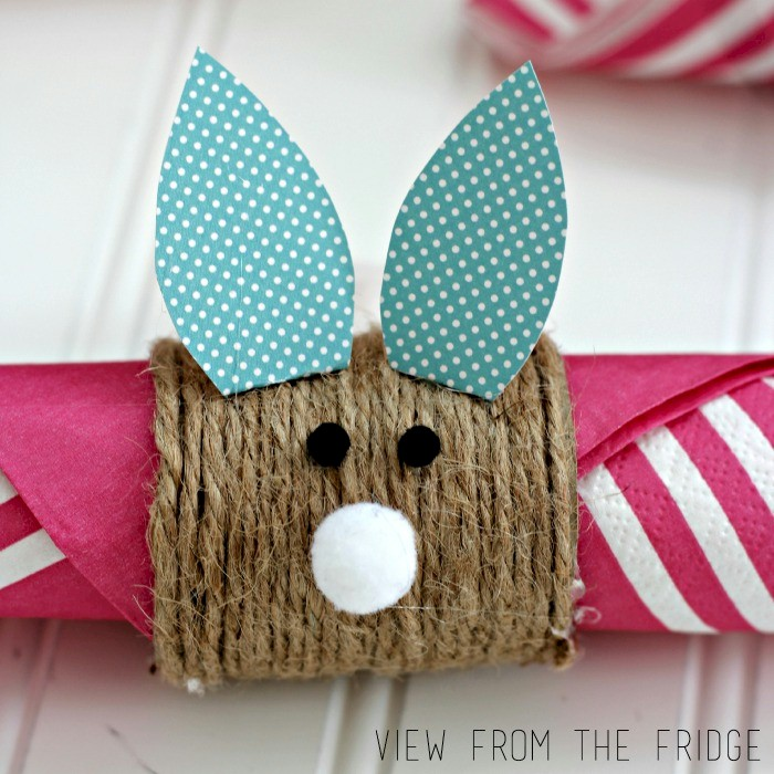 Kids Easter Bunny Napkin Ring