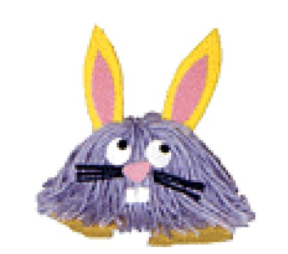 Easter Bunny Yarn Bug