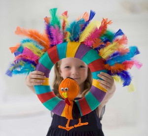 Easy Turkey Wreath