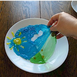 Edible Gummy Painting Craft