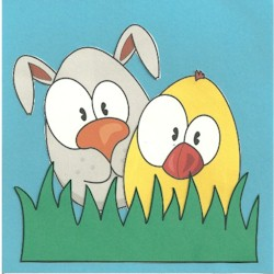 Image of Printable Egg Barnyard Animals