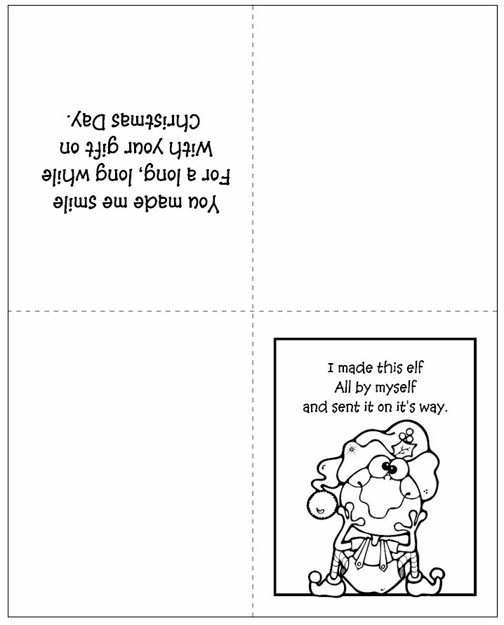 elf-thank-you-card-bw