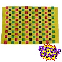 Image of Paper Kente Weaving
