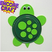 Image of Paper Plate Turtle