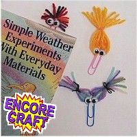 Make Zany Bookmarks from Paper Clips