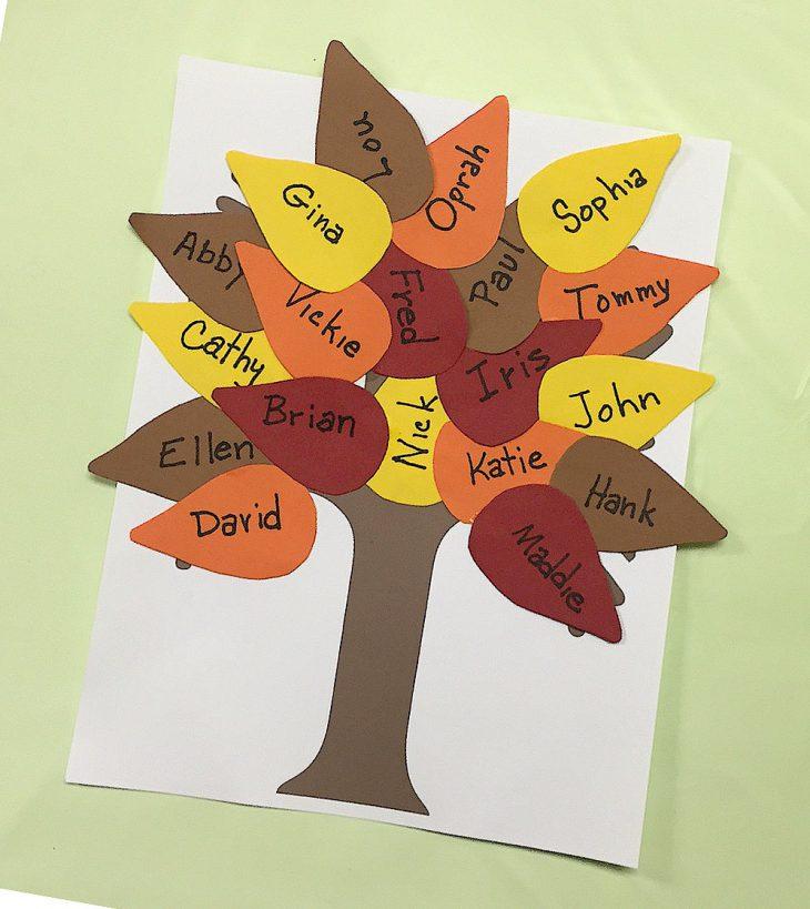 Fall Classroom Tree Craft