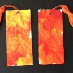 DIY Fall Leaf Bookmark
