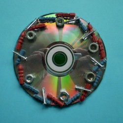 Image of Recycled CD Coaster