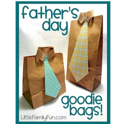 Image of Paper Bag Goodie Bags for Dad