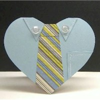 Necktie Father's Day Card