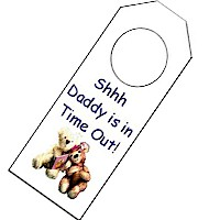 Image of Gone Fishin Door Hanger