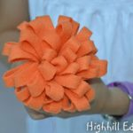 Felt Flower Decoration