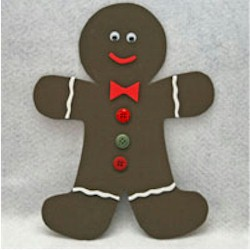 Image of Foam Gingerbread Man