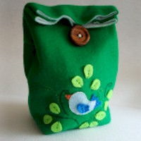 Felt Lunch Bag