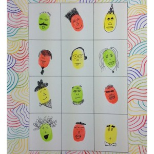 Make Fingerprint Faces