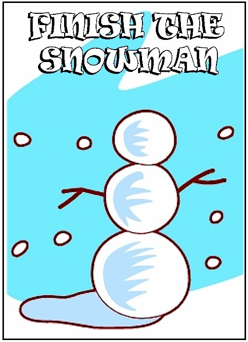 Finish the Snowman