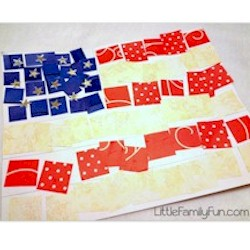 Image of Collage Flag