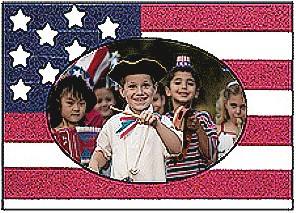Flag Day Photo Frame
