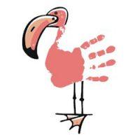 Image of Handprint Tropical Bird