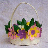 Image of Paper Plate Basket