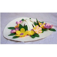 Image of Flowered Easter Bonnet