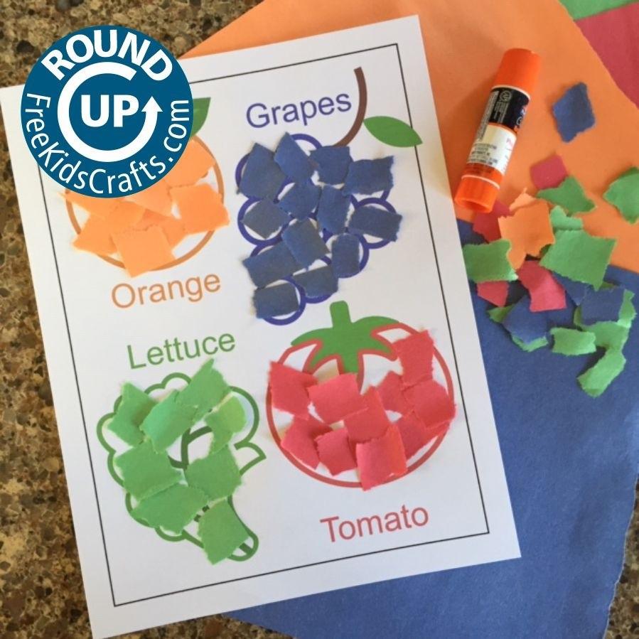 Several Crafts and Activities For Preschool Children