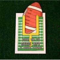 Image of Football Name Placques
