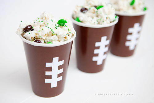 Image of Football Snack Cups