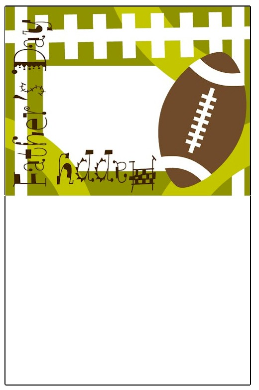 football card pattern
