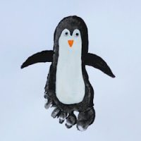 Image of Hand and Footprint Penguin